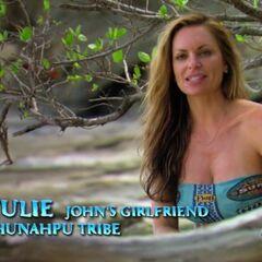 Julie giving a <a href=