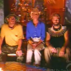 The Final Three at Tribal Council