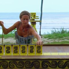 Missy competing in the final seven Immunity Challenge, <i><a href=