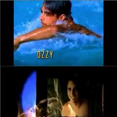 Ozzy's opening shots in the credits.