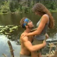 Matty proposes to his girlfriend Jaime at the Nobag camp.
