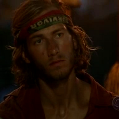 Brandon at Tribal Council.