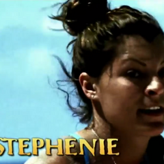 Stephenie's first motion shot in the intro.