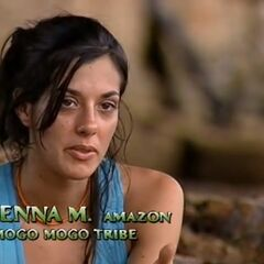 Jenna making a confessional about her mother.
