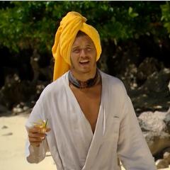Malcolm on the spa reward, Day 26.