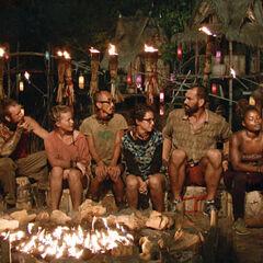 Dara at its third Tribal Council.