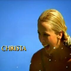 Christa's motion shot in the opening.