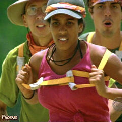 Erica at the 1st Immunity Challenge.