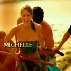 Michelle's motion shot in the opening