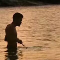 Terry fishing