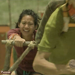 Michelle competes for immunity