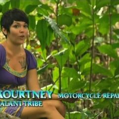 Kourtney in a confessional.