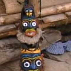 <i>Survivor: Borneo</i> Immunity Idol.