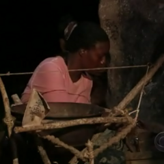 Cirie prepares for the challenge