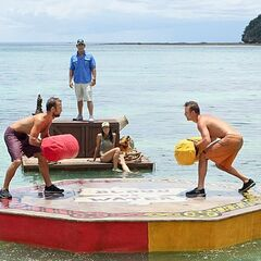 Aras against Vytas in the 3rd Immunity Challenge.