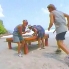 Chuay Gahn competes in the Immunity Challenge