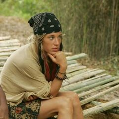 Ashley at the Zhan Hu camp.