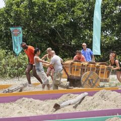 Aparri in the first Immunity Challenge