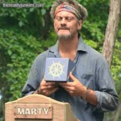 Marty at his last challenge.