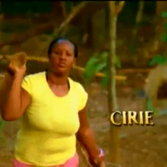 Cirie's motion shot in the episode one intro.