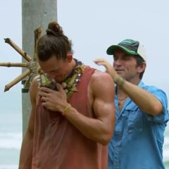 Joe after winning his first Individual Immunity.