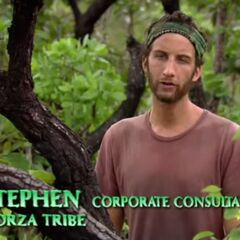 Stephen making a confessional.
