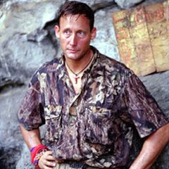 John at the Chuay Gahn camp.