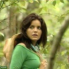 Brianna in the Guatemalan jungle.