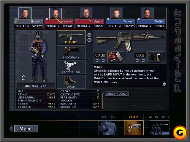 SWAT 3: Close Quarters Battle — SWAT вики — вики Викии