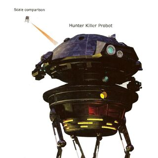 His third body, which is a Hunter Killer probot model. It was temporary.
