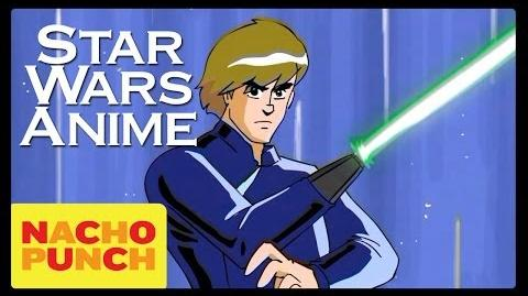 Star Wars The Lost 1980's Anime
