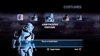 Unlocked Hidden Costumes in Star Wars Force Unleashed 2-0