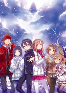 SAO Winter illustration