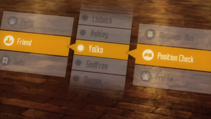 Asuna's friend list