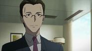 Nobuyuki after shaking hands with Kazuto