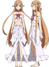 Asuna's Titania Avatar Full Body