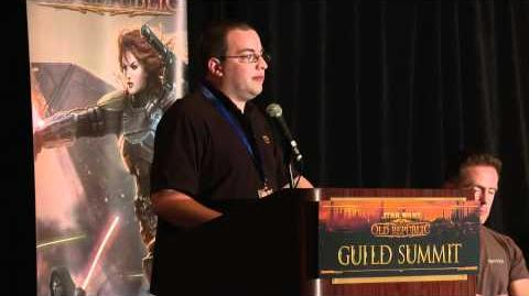 STAR WARS The Old Republic - Guild Summit Economy Panel