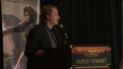 STAR WARS The Old Republic - Guild Summit Guilds Panel