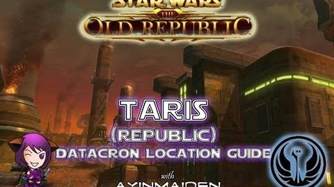 ★ SWTOR ★ - Datacron Location Guide - Taris (Republic)
