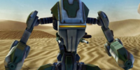 Mandalorian Gunner Droid