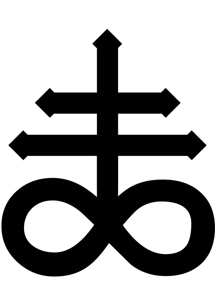 Leviathan Cross Antichrist Cross Symbol