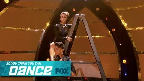 Paul & Kathryn Top 6 Perform SO YOU THINK YOU CAN DANCE FOX BROADCASTING