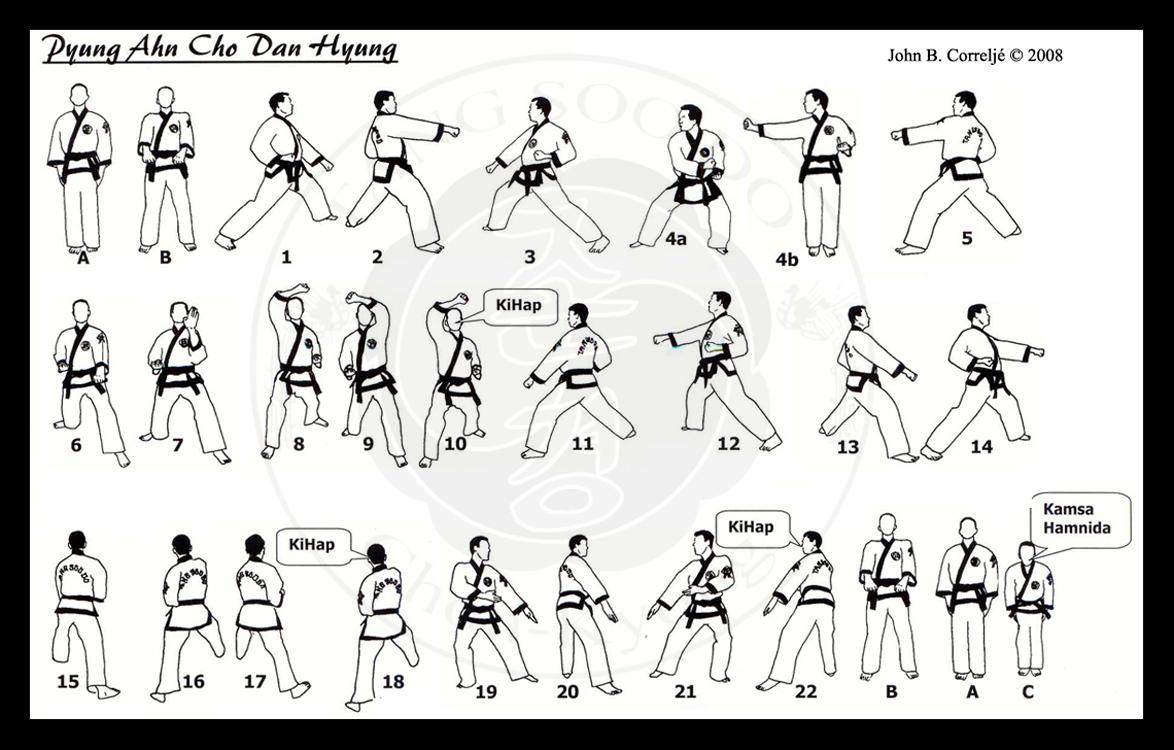Pyung Ahn Cho-Dan   Taekwondo Wiki   FANDOM powered by Wikia