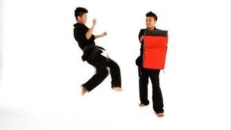 How to Do a Tornado Roundhouse Kick Taekwondo Training