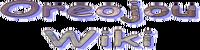 Oreojou Wiki Wordmark