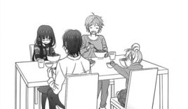 Mao's family eating together