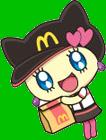 Melodytchi mcdonalds anime
