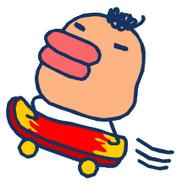 Tarakotchi skateboard