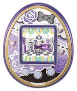 Purple 4u with purple roses plate