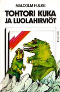DW and the Cave Monsters Finnish cover front